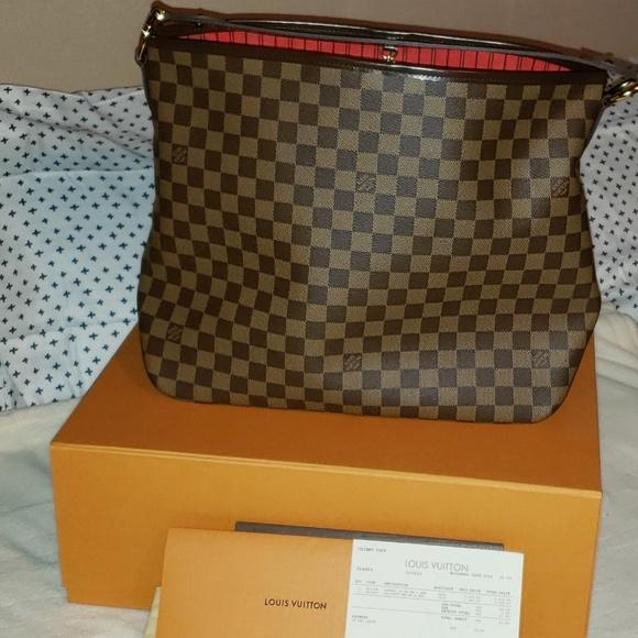356636b90e9e Louis Vuitton Handbags - Louis Vuitton Delightful MM Damier Ebene